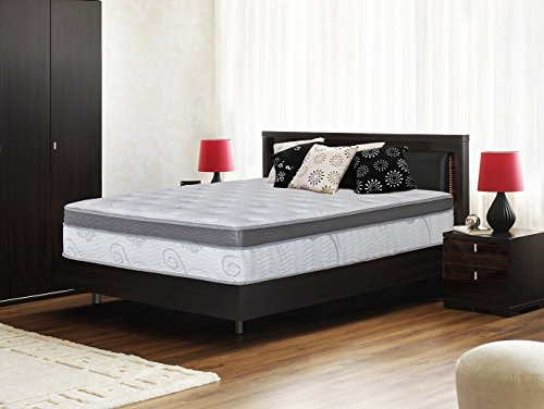 Olee Sleep 13 inch Galaxy Hybrid Gel Infused Memory Foam