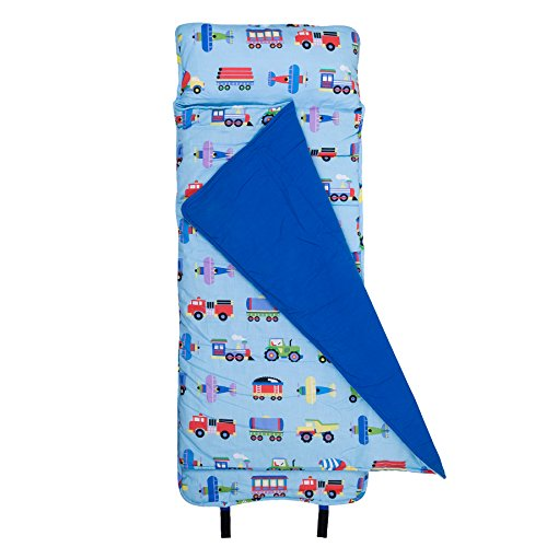 Wildkin Children's Original Nap Mat with Built-in Blanket & Pillowcase