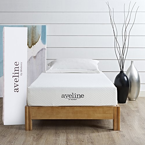 "Modway Aveline 8"" Gel Infused Memory Foam Twin Mattress"