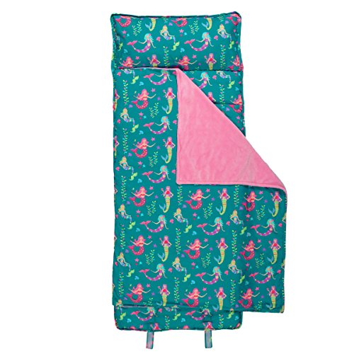 Stephen Joseph All-Over Print Nap Mat, Mermaid